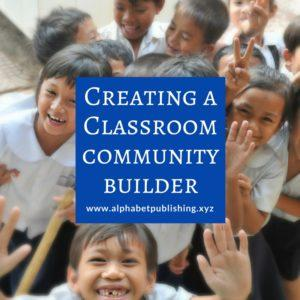Creating a Classroom Community Builder