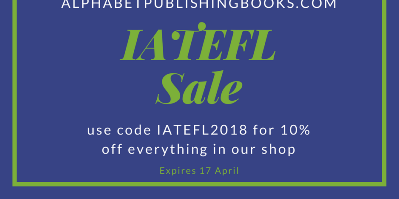 10% off our books during IATEFL