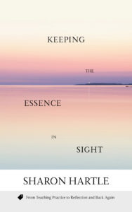 Cover of Keeping the Essence in Sight by Sharon Hartle, a beautiful pink and purple sunset reflected in the ocean below with a lighthouse on a point shining far in the horizon. Click to download a free chapter on Teaching with technology in the ESL Classroom