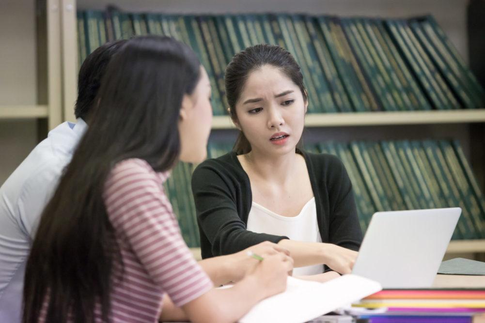 Students Disagreeing
